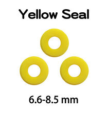 Yellow Seal For PG11 PGT2 IP68 Waterproof Connector Screw Joiner TUV - 3 pcs/Set