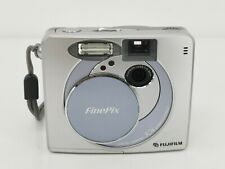 Vtg 2002 Fujifilm FinePix 30i 2MP Silver Digital Camera MP3 Player Made Japan