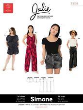 a751459e396e Jalie Simone Wide-Leg Shorts & Pants Sewing Pattern 3908 Women XS-2XL,
