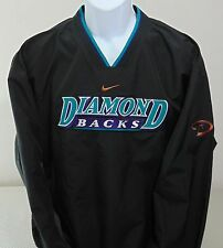 NEW MLB Arizona Diamondbacks Black Nike V-Neck Pullover Mens L NWT NEW