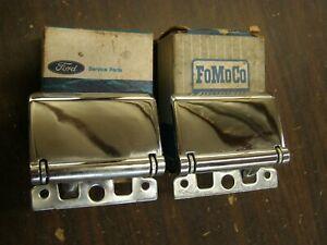 NOS OEM Ford 1968 1969 Galaxie Torino Bronco T-Bird Inside Door Handles 1970 +++