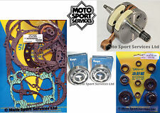 KX 250 93-01 Mitaka Bottom End Engine Rebuild Kit Crank Mains Gasket & Seal Kit