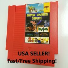 143 in 1 Classic NES Nintendo multi Cartridge USA Seller!Free/Fast Ship! ON SALE