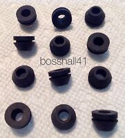 12 NEW MOTOR GROMMETS FOR RCA RP-190 45 RPM RECORD PLAYER