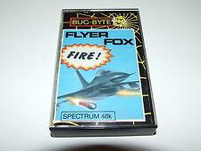 Flyer Fox par Bug-BYTE pour ZX Spectrum complet très bon état!