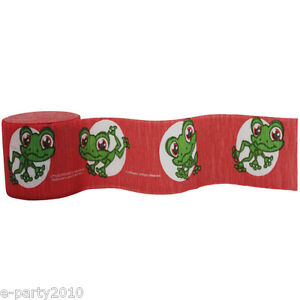 LITTLEST PET SHOP CREPE PAPER STREAMER ~ Birthday Party Supplies Frog Decoration
