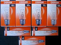 10 Stck OSRAM Glühbirne Glühlampe Glühlampen Kerzen Kerze 25 40 60 75 100W EEKE