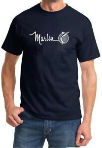 1965 1966 1967 AMC Marlin Logo Classic Design Tshirt NEW