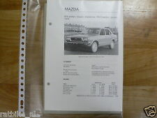 M05-MAZDA 818 SEDAN, COUPE,STATIONCAR, RX-3 SEDAN, COUP