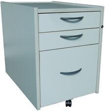 IKEA efficace, conteneur à roulettes (3x tiroirs) dans cendré
