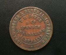 Australia / New Zealand penny Token - Jones, T.H.