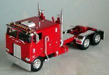 "RED PETERBILT 352 110""SLEEPER 245 FRAME SHOW PARTS 1/64  DCP 60-0604"