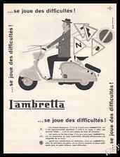 1957 Lambretta Scooter  Original Advert print ad - Z1