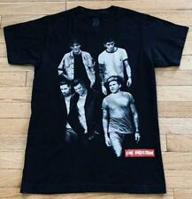 One Direction 1D Group Photo Collage Pop Boy Band Black T-Shirt Size S