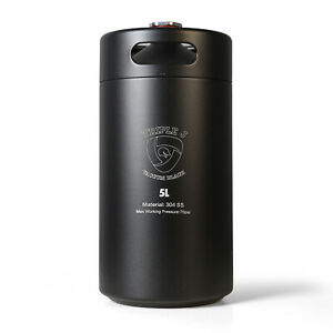 TripleJ Stainless Steel Double Wall & Insulated 5L Mini keg Growler