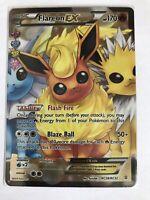Flareon EX FULL ART Ultra Rare RC28/RC32 XY Generations Radiant Pokemon, NM Holo