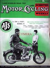 Feb 26 1959 A.J.S. 'Model 14 250cc' Motor Cycle ADVERT - Magazine Cover Print
