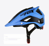 MTB Bike Helmet Mountain Bicycle Cycling Detachable Visor + Free Helmets Cover