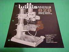 1973 INDUSTRIAL TOOL FLYER WILLIS MODIG LITTLE BEAR 828 RADIAL DRILLING MACHINE