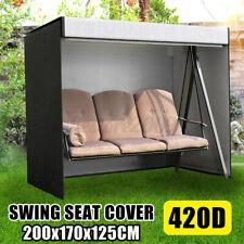 3 Seater Swing Hammock Cover Waterproof Garden Patio Furniture Outdoor Zipper