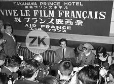 VIVE LE FILM FRANCAIS Alain DELON Laforêt AIR FRANCE Photographe JAPON Photo 60s