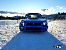 RPG 02-03 JDM STi Style WR Blue Hood Scoop for Subaru Impreza WRX GDA GDB WRC