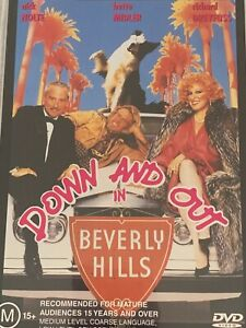 Down And Out In Beverly Hills Nick Nolte Bette Midler DVD