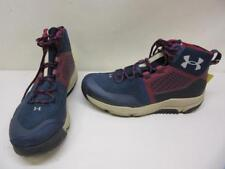 Under Armour Moraine Hiking Boots Shoes SMS Sample Men's size 9 Blue