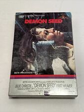 Demon Seed Beta Videocassette Tape MGM USA Vintage Factory Sealed