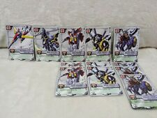 GUNDAM WING / EW MS War Trading Card Game UNCOMMON Lot x104 TCG CCG 2000 Bandai