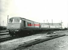PHOTO  W60097 METROPOLITAN CAMMELL CLASS 251 8-CAR BLUE PULLMAN DMU FOR WORKING