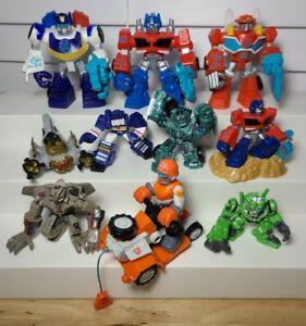 LOT Of Playskool Heroes Transformers Rescue Bots
