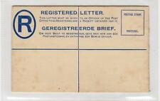 SOUTH AFRICA: KGV Registered postal stationery envelope (C29333)