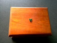 TASMANIA WOOD BOX BLACKWOOD AUSTRALIA