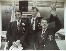 BRASHER CHRIS 1954 COMMONWEALTH GAMES AUTOGRAPHED PHOTOGRAPH