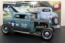 1:18 GMP 1932 Ford Coupe F432 USN Blue A1805001 The Corsairs In Stock by Acme