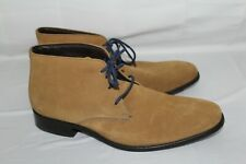 COLE HAAN Men's 11.5 M Brown Suede Leather Boots N-Air