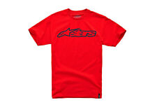 Alpinestars Blaze Classic Tee (L) Red / Dark Blue