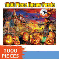 1000 Piece Adult Kid Halloween Jigsaw Puzzles Children Gift Educational Game Toy