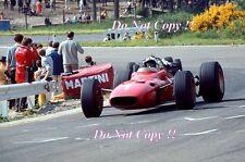 Chris Amon Ferrari 312/67 Belgian Grand Prix 1967 Photograph