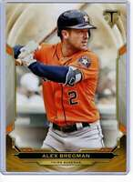 Alex Bregman 2019 Topps Triple Threads 5x7 Gold #56 /10 Astros