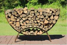 Crescent Firewood Rack, 5 Feet All Year Round Outdoor Rack