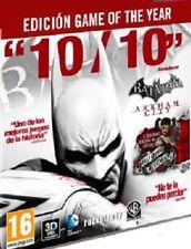 Batman Arkham City GOTY (JUEGO DEL AÑO). TOTALMENTE EN ESPAÑOL. CD-KEY STEAM