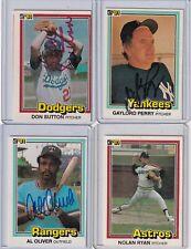 1981 Donruss signed Astros Nolan Ryan signed card w/COA