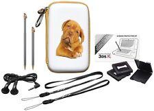 Nintendo New 3DS XL / 3DSXL / 3DS / DSi XL Pack Baby Animals Hund Tasche Zubehör