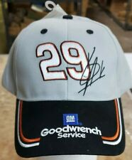 BRAND NEW! VINTAGE GM GOODWRENCH #29 KEVIN HARVICK GRAY & BLACK HAT