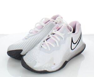 74-45  $150 Women's Sz 8.5 M NikeCourt Air Zoom Vapor Cage 4 Sneaker In White