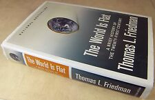 THE WORLD IS FLAT by Thomas Friedman 2005 Brief History of 21st Century 1st Edit