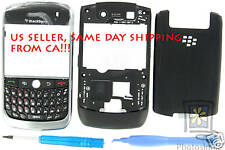 Full Whole Complete New Case Housing for Rim BlackBerry Javelin Curve 8900 Black