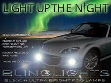 2013 2014 2015 Mazda MX-5 Miata Xenon Halog Fog Lamps Driving Light Kit Set Pair